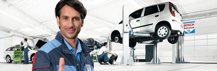 Тестово оборудване от Bosch Automotive Service Solutions